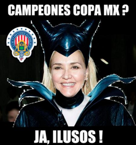 Memes del campeonato de la Copa MX de Chivas
