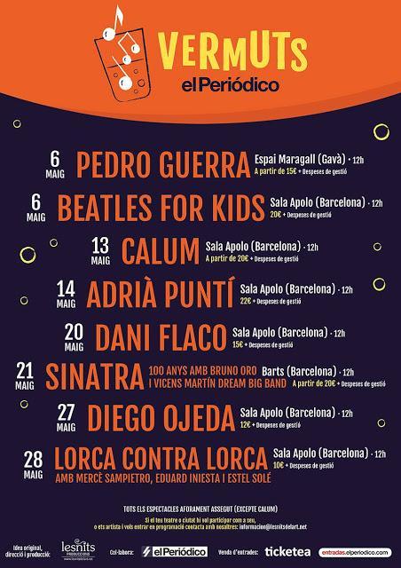 [Noticia] Nace un nuevo ciclo de conciertos Vermuts El Periódico