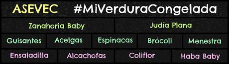 Recetas verdura congelada para peques: Edición #MiVerduraCongelada