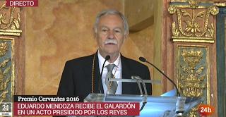 Eduardo Menoza, Premio Cervantes