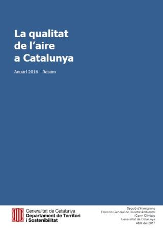 Calidad del Aire en Cataluña 2016