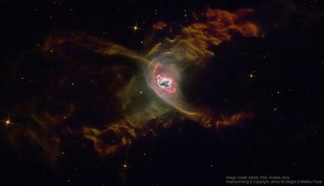 La nebulosa planetaria de la araña roja