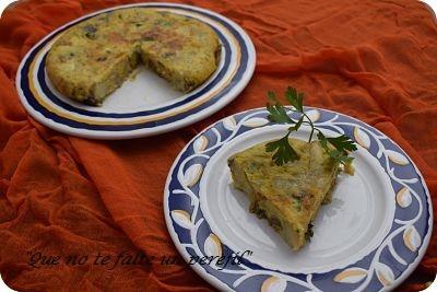 Tortilla de Patatas y Gurumelos