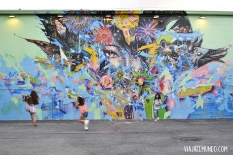 El arte en las calles de Wynwood