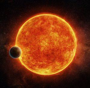 Descubierta una súper-Tierra rocosa en la zona habitable de una enana roja