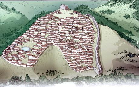 La Bastida Espana Viajando entre piedras