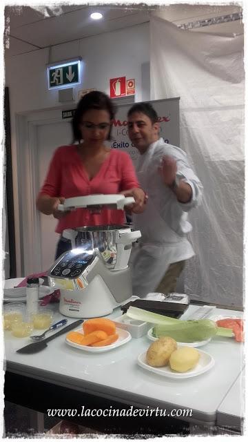 Demostración Culinaria: Moulinex Companion