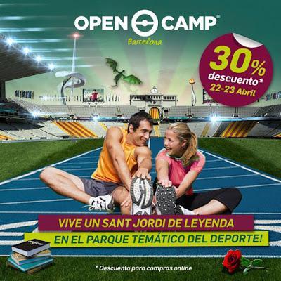 Nueva temporada de OpenCamp Barcelona, el parque temático del deporte