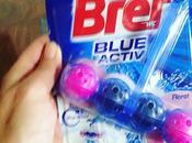 Zafarrancho.- Probando nuevo Bref Blue Activ Floral... viene primavera!!!