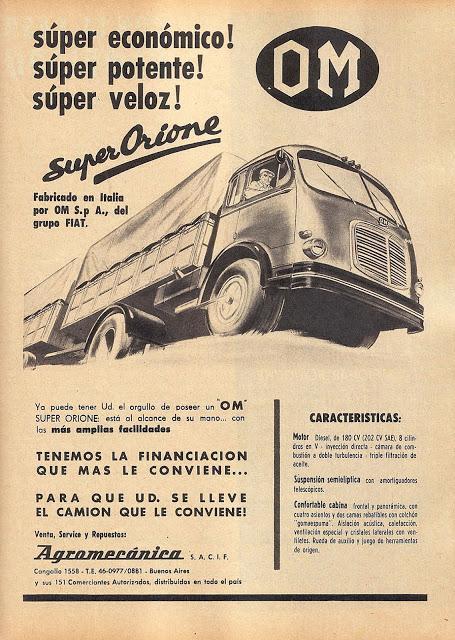 OM Super Orione de 1962