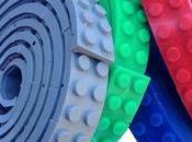 Cinta adhesiva Lego, invento fantástico!