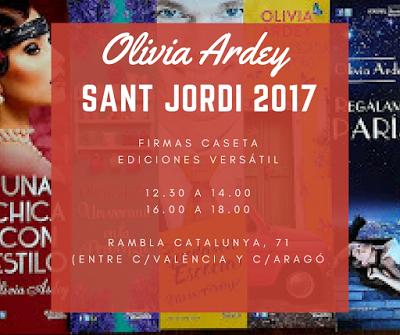 Firmas Sant Jordi 2017