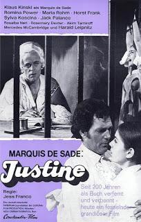 JUSTINE (Italia, Alemania del Oeste, USA, Liechtenstein; 1968) Erótico