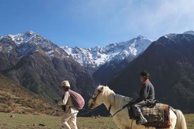 Kalo Pothi, un pueblo de Nepal. ¿Donde está la gallina de mi amigo?