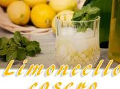 Auténtico limoncello casero