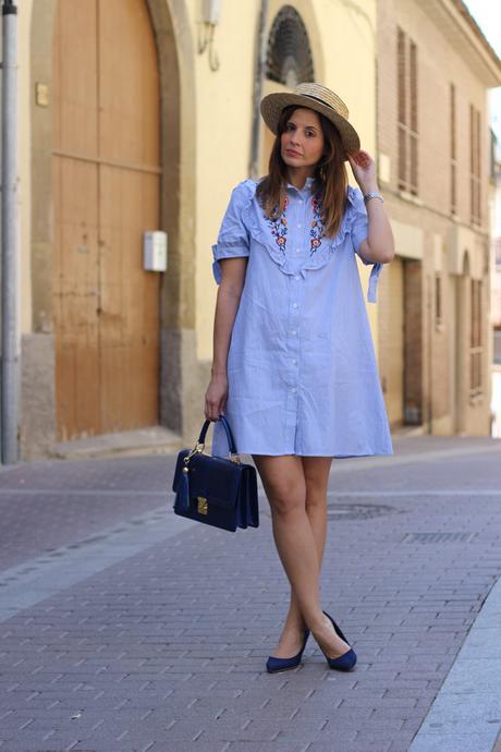 Vestidos de verano bordados