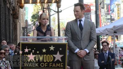 Con emoción, Chris Pratt, recibe su estrella