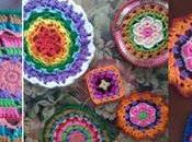 Inspiración para Tejer Mandala Crochet (Inspiration Mandala)