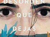"""desorden dejas"""", Carlos Montero: novela fabulosa"""