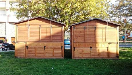 El tratamiento ign fugo para realizar en las casetas de madera paperblog - Feria de casas prefabricadas ...