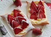 Tartaletas fresas crema