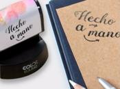 Sellos personalizados para manualidades, papelería…