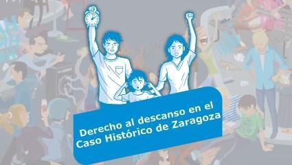 Derecho al descanso en el Casco Histórico de Zaragoza