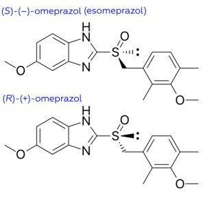 Enantiomeros del omeprazol