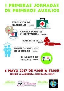 I Jornadas de Primeros Auxilios del Colegio La Anunciata