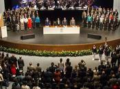 Manuel Fermín Villar Rubio rinde informe como rector UASLP