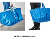 ¿Parecido sorprendente entre bolsa Ikea bolso Balenciaga? estás soñando