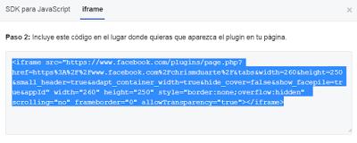 plugin para facebook