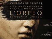 Camerata Caracas marco Aniversario nacimiento Claudio Monteverdi presenta Ópera Orfeo