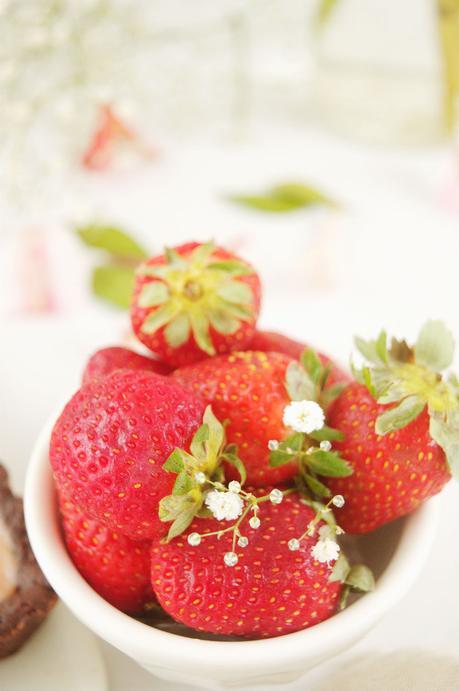 Tarta de pomelo y fresas, fusión de sabores