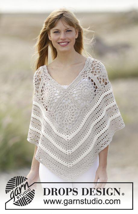 Ponchos a crochet - Paperblog