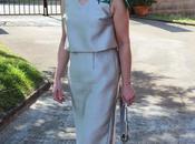 looks vestido gris plata