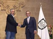 George mavrikos, secretario general federación sindical mundial, nombrado visitante distinguido cdmx