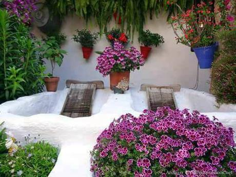 Lavadero en un patio de c rdoba paperblog for Lavadero para patio