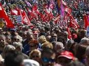 sindicatos celebraron Internacional Trabajadores.
