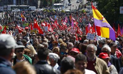 Los sindicatos celebraron el Día Internacional de los Trabajadores.