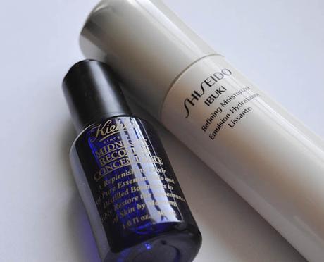 Kiehls midnight revovery shiseido