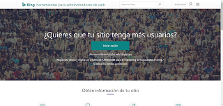 Registrando blog de blogger en Bing Webmaster