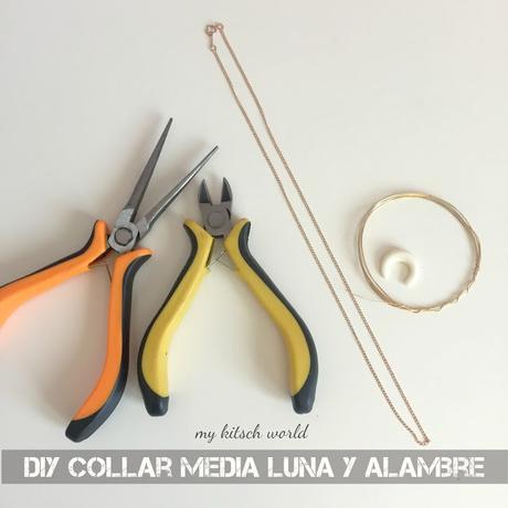 DIY COLLAR MEDIA LUNA O CUERNO