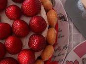 Charlota fresas mascarpone