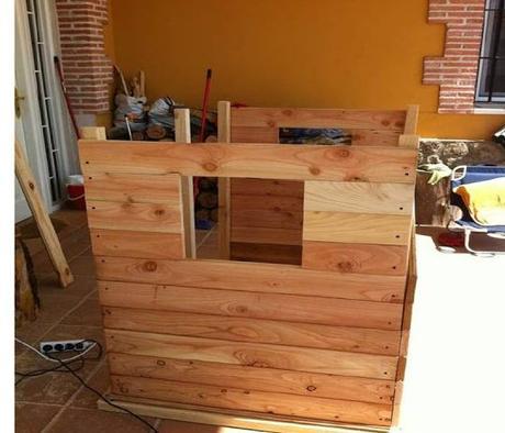 construye una casa de madera para tus nios