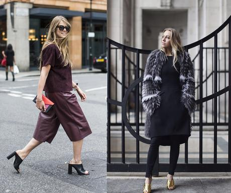 zapatos de moda 2017 mujer mules como llevar mules outfits looks