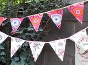 Banderines para Fiestas hora amigas