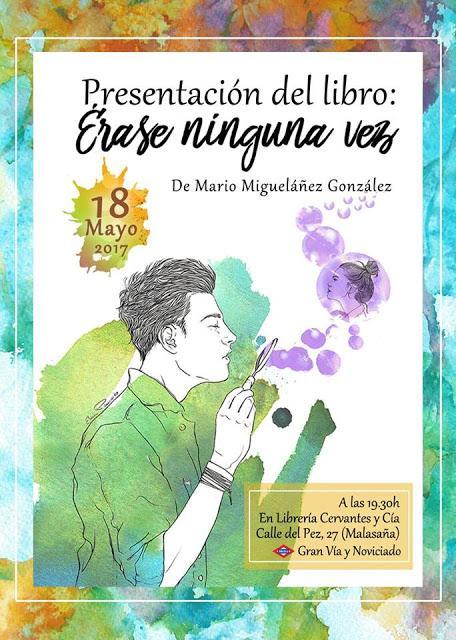 Presentación del primer poemario de Mario Migueláñez González