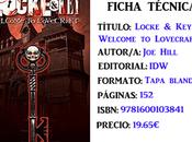 Reseña: Locke Vol. Welcome Lovecraft, Hill Gabriel Rodríguez