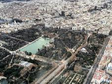 postal semana: Madrid desde cielo